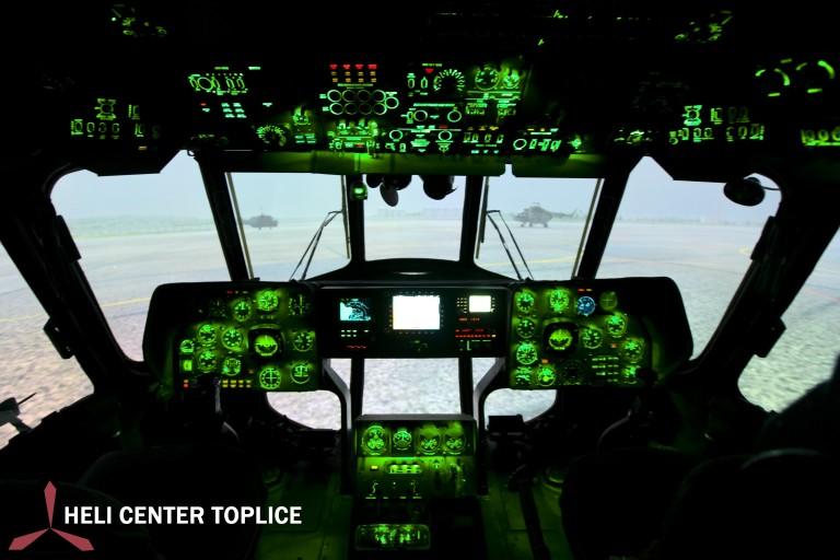 Mi-17 FFS Cockpit